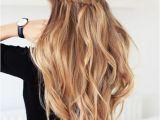 Hairstyles Down Curly Braid Peinados Para Chicas Con Poquito Cabello In 2019 Hair