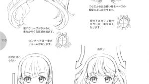 Hairstyles Drawing Easy Tutorial Hair How to Draw