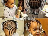 Hairstyles for 1 Year Old Black Baby Girl Braids and Beads Kid S Hair too Pinterest