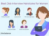 Hairstyles for Curly Hair for Interview Best Job Interview Hairstyles for Women