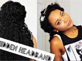 Hairstyles for Curly Hair with Headband the Hidden Headband Curly Hair Tutorial