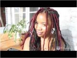 Hairstyles for Dreadlocks Youtube How I Retighten and Refresh Old Faux Locs