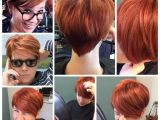 Hairstyles for Growing Out A Pixie Haircut Pixie Back View Red orange Ginger Growing Out A Pixie Short