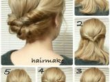 Hairstyles for Hair Up Step by Step Easy French Twist Wedding Hair Tutorial