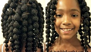 Hairstyles for Little Black Girls with Thick Hair Cute and Easy Hair Puff Balls Hairstyle for Little Girls to