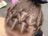 Hairstyles for Little Girls- Ponytails Little Girl Hairstyle Cute Hair for Dance Recital