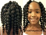 Hairstyles for Little Girls with Natural Hair Cute and Easy Hair Puff Balls Hairstyle for Little Girls to