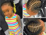 Hairstyles for Little Girls with Natural Hair Kids Braided Ponytail Naturalista Pinterest