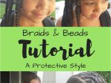Hairstyles for Little Mixed Girls Braids & Beads Tutorial A Protective Style Biracial Hair Care