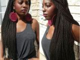 Hairstyles for Long Twist Braids 50 Thrilling Twist Braid Styles to Try This Season