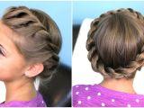 Hairstyles for Medium Hair Updos Braids How to Create A Crown Twist Braid
