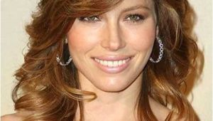 Hairstyles for Medium Length Curly Hair with Side Bangs 30 Best Curly Hair with Bangs