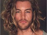 Hairstyles for Men with Long Thick Curly Hair 50 Smooth Wavy Hairstyles for Men Men Hairstyles World