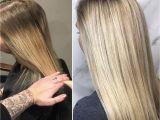Hairstyles for Natural Blonde Hair Balayage soft Blonde Low Light Natural Blonde Hair by Kendi
