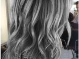Hairstyles for Natural Blonde Hair Silver Ombre On Black Base Aboutwomanbeauty