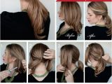Hairstyles for School Tutorials Twisted Ponytail Tutorial Purty