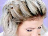 Hairstyles for Short Hair French Braid 25 Pretty French Braid Hairstyles to Diy In 2018