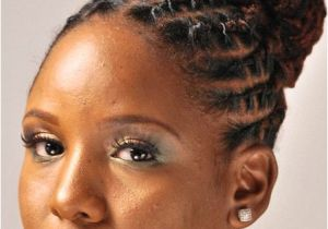 Hairstyles for Starter Dreads Protective Styles for Natural Hair Google Search