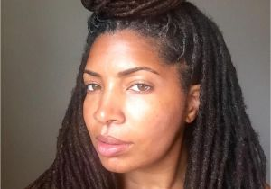 Hairstyles for Starter Dreads See This Instagram Photo by Loccrush • top Knot High Bun Lock Bun