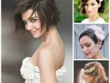 Hairstyles for Weddings Medium Hair Bridal Hairstyles Sirmione Wedding