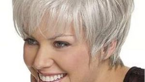 Hairstyles Grey Hair Funky Short Hair for Women Over 60 with Glasses