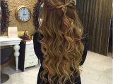 Hairstyles Half Updos for Long Hair Braided Half Updo Hairstyles In 2018 Pinterest