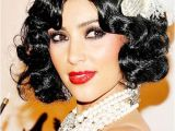 Hairstyles Of the 1920 S Flappers Kim Kardashian 1920s Flapper Look
