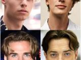 Hairstyles Parted Down the Middle Middle Part Hairstyles Men Hair Pinterest