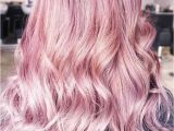 Hairstyles Pink Highlights Hair Color 2017 2018 Metallic Pastel Pink Hair Pinkhair Brunette