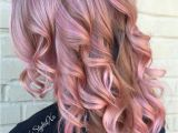 Hairstyles Pink Highlights Rose Gold Hair Hair Pinterest