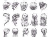 Hairstyles to Draw Step by Step Drawing Hairstyles Profile Google Search Art Diy