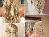 Hairstyles to Dress Down An Outfit 15 Chic Half Up Half Down Wedding Hairstyles for Long Hair