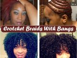 Hairstyles Using Crochet Needle Crotchet Braids with A Bang Including Braid Pattern