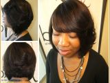 Hairstyles Weaves with Bangs Lovely How to Do Quick Weave Hairstyles Awesome I Pinimg originals