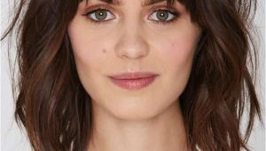 Hairstyles with Bangs for Round Faces 2019 43 Superb Medium Length Hairstyles for An Amazing Look