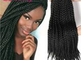 Hairstyles with Expression Braid Crotchet Box Braids Crotchet Braids Senegalese Expression