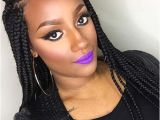 Hairstyles with Jumbo Braids 35 Awesome Box Braids Hairstyles You Simply Must Try