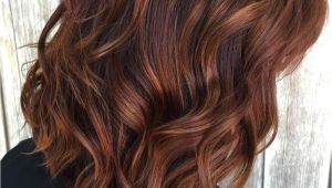 Hairstyles with Red Highlights Pictures 40 Unique Ways to Make Your Chestnut Brown Hair Pop