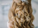 Half Up and Down Hairstyles for A Wedding 20 Awesome Half Up Half Down Wedding Hairstyle Ideas