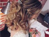 Half Up and Down Hairstyles for A Wedding Wedding Hairstyles Elegant Half Up and Down Hairstyles