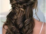 Half Up Hairstyles Back View 768 Best Bridesmaid Hair Images In 2019