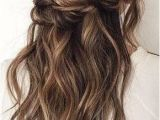 Half Up Hairstyles for Bridesmaids Twisted Half Up Hairstyles