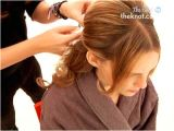 Half Up Hairstyles Long Straight Hair How to Create A Half Up Half Down Wedding Day Hairstyle the Knot