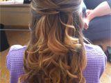 Half Up Half Down Hairstyles On Pinterest Hair Half Up Half Down Styles Lovely Half Updo Hairstyles Haircolors