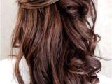 Half Up Half Down Hairstyles On Pinterest Half Up Half Down Brunette Hairstyle Hair Pinterest