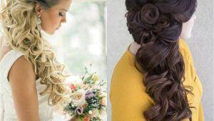 Half Up Half Down Side Wedding Hairstyles Classy Choice Of Half Up and Half Down Wedding Hairstyles