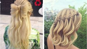 Half Up Half Down Straight Hairstyles for Prom 31 Half Up Half Down Prom Hairstyles