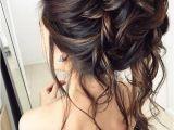 Half Up Messy Bun Hairstyles 75 Chic Wedding Hair Updos for Elegant Brides