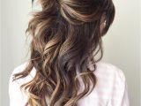 Half Up Messy Bun Hairstyles Half Up Half Down Wedding Hairstyles – 50 Stylish Ideas for Brides