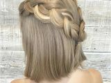 Half Updo Hairstyles for Shoulder Length Hair 31 Half Up Half Down Prom Hairstyles